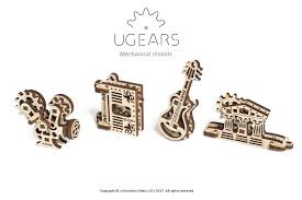 UGears #120693 U-Fidgets Creation