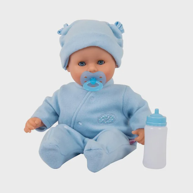 DOLL'S WORLD BABY LITTLE TREASURE BLUE
