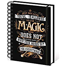 HARRY POTTER NOTEBOOK MAGIC