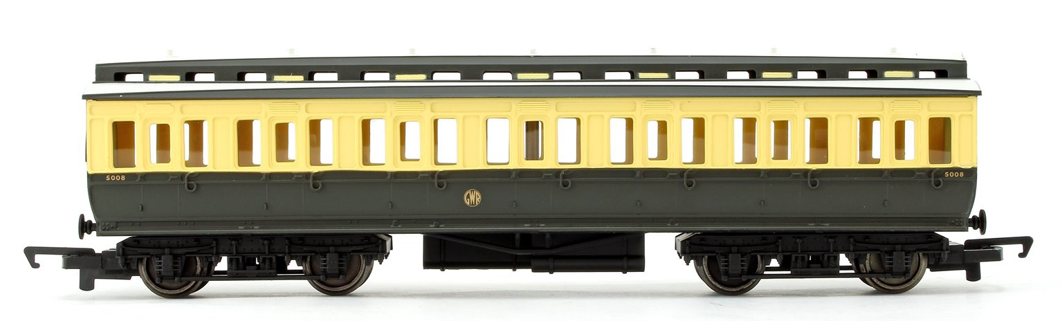 Hornby #R4913 GWR Clerestory Composite 3rd Class Coach