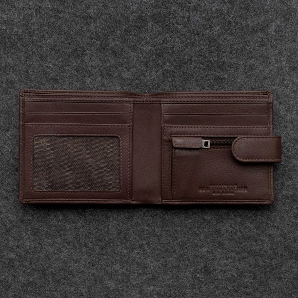 Leather Contemporary Wallet
