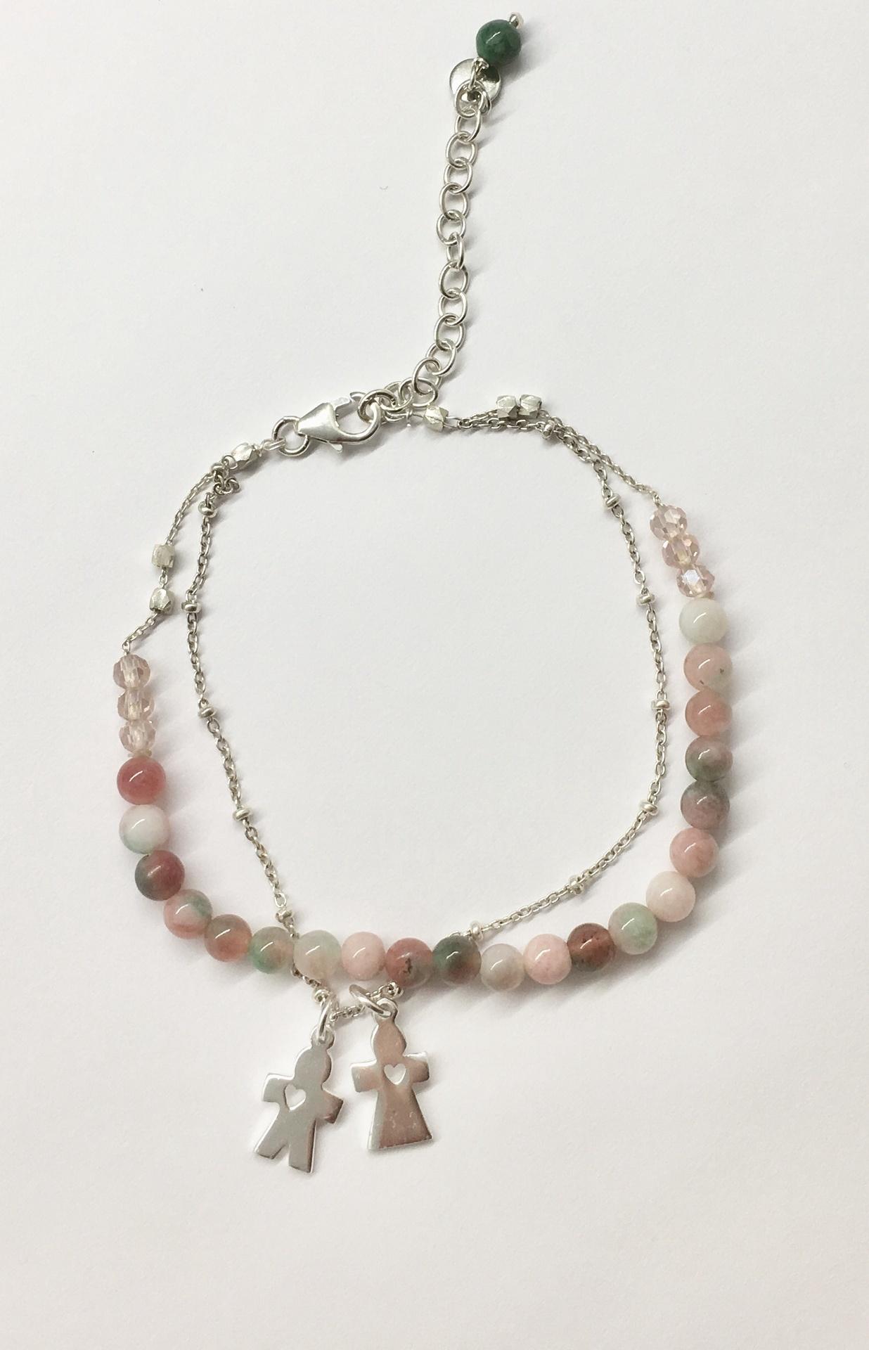 Annabella Moore- Male & Female Charm Bracelet