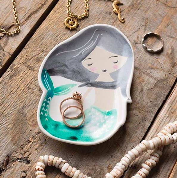 Lil Mermaid Trinket Tray