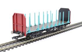 Hornby #R6848 OTA Timber Wagon (Tapered Stanchions)