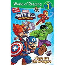 MARVEL SUPER HERO ADVENTURES THESE ARE THE AVENGERS LV1 (PB)