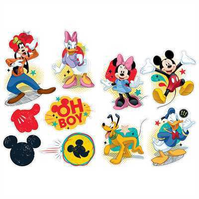 EU 840220 MICKEY MOUSE 2 SIDED DECO KITS