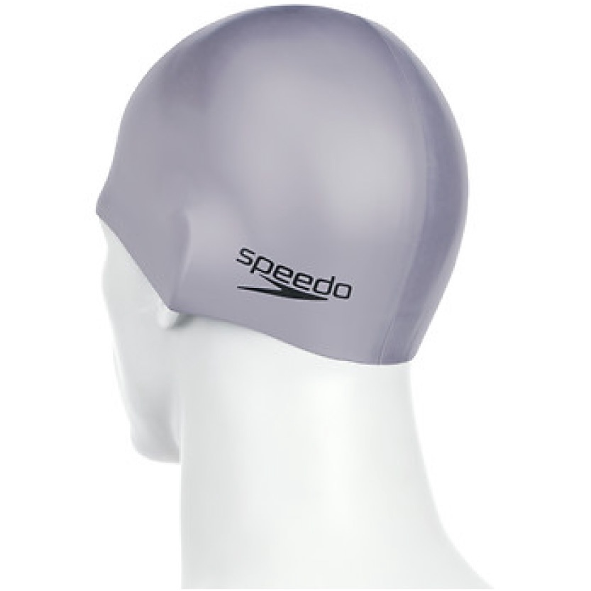 Plain Moulded Silicone Cap Chrome