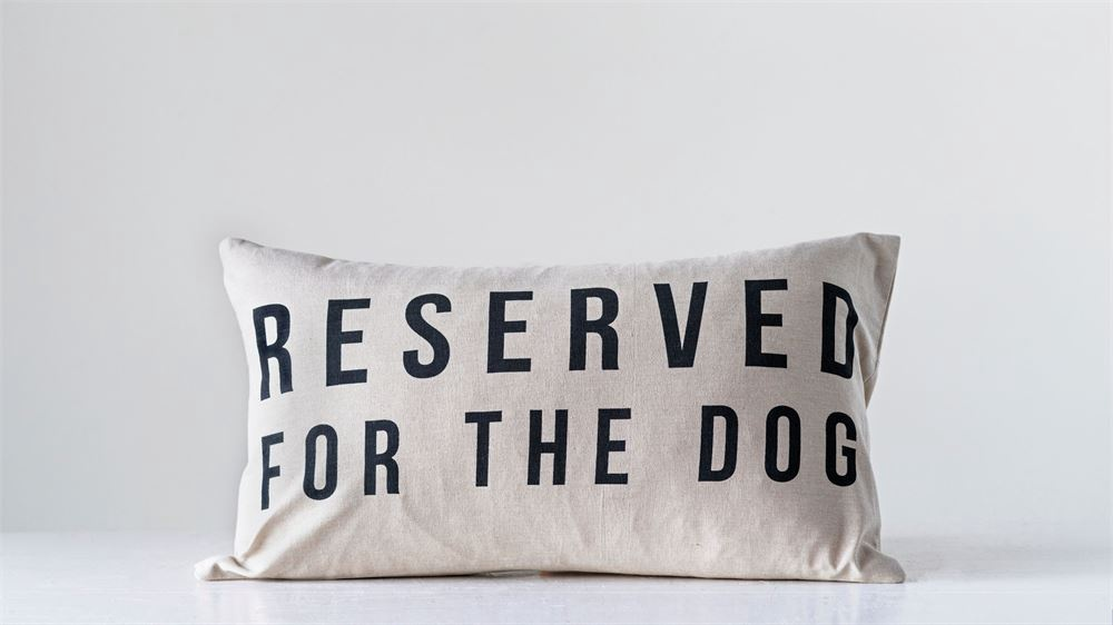 CC- Pillow / Reserved for the Dog