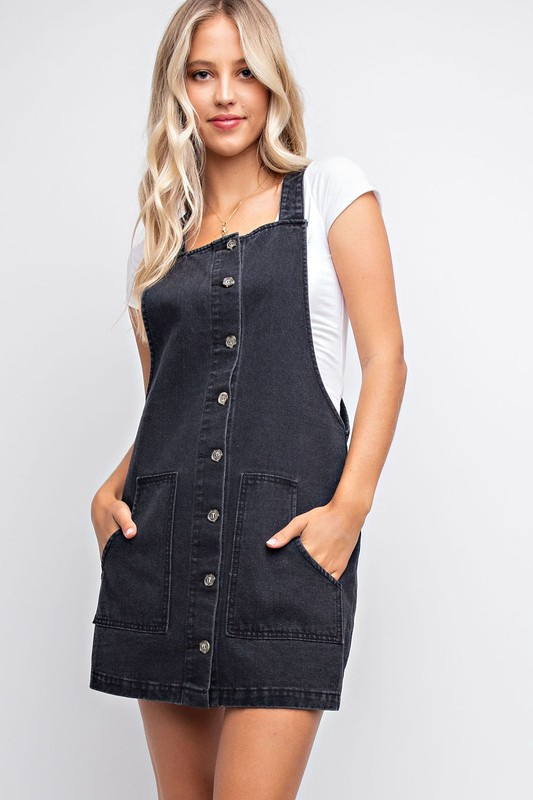 Overall Jumper w Buttons Down Front n Pockets
