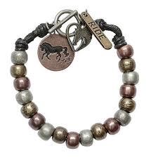 AWST Copper Beaded Bracelet