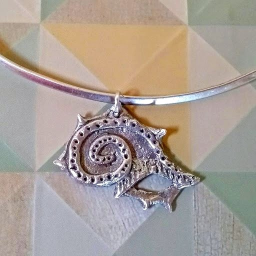Silver Clay pendant workshop with Tatty K: Thursday, September 12, 2019 at 6 PM – 9:30 PM