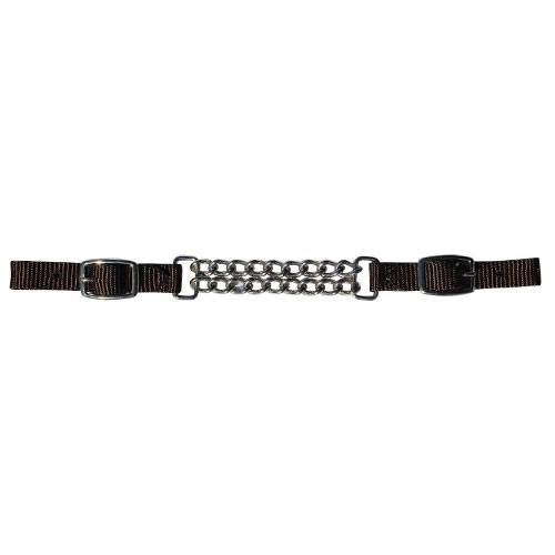 Professional's Choice Double Chain Nylon Curb Strap