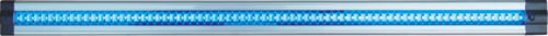 IP20 5W 72 LED THIN LINEAR LIGHT 24V BLUE 500mm
