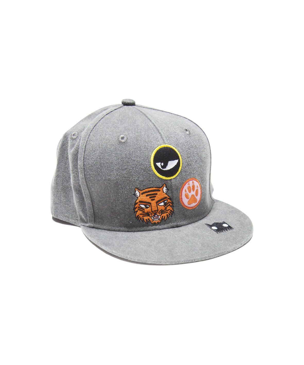 BOB Cat Badges Hip Hop Cap