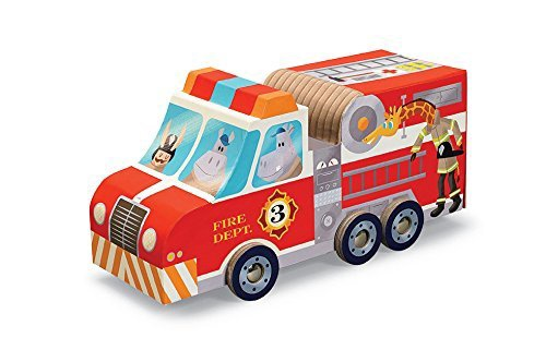 FIRE TRUCK PUZZLE PLAY 24 PC