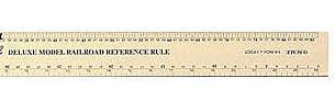 Excel #55778 Scale Model Railroad Ruler