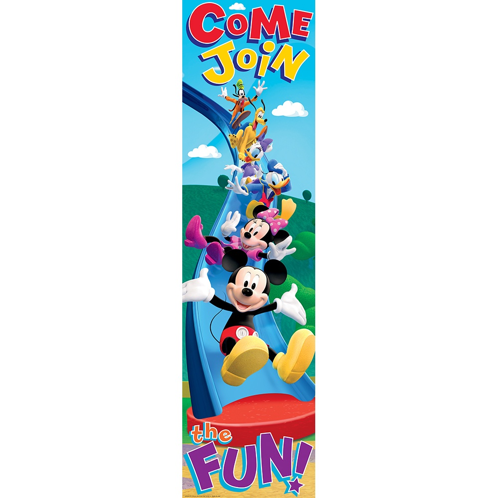 X EU 849039 MICKEY MOUSE CLUBHOUSE BANNER