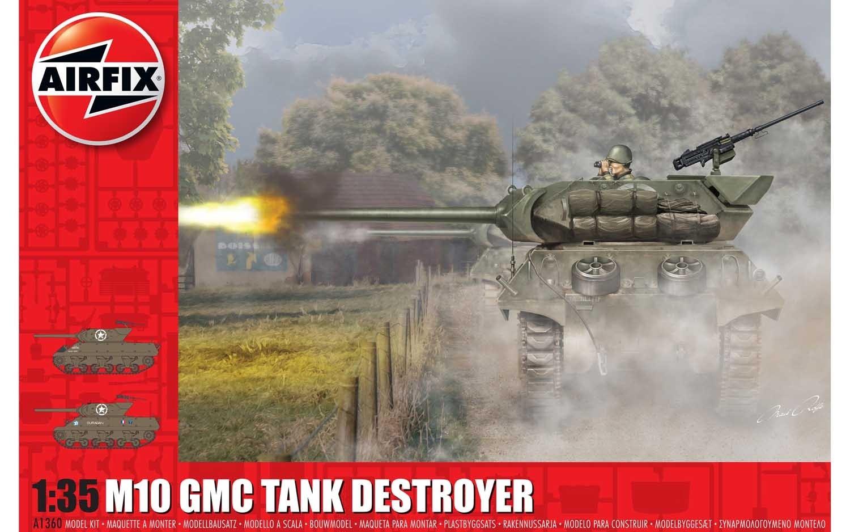 Airfix #1360 1/35 M10 GMC Tank Destroyer
