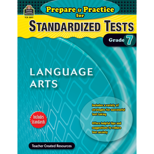 X TCR 2897 PREPARE AND PRACTICE FOR STANDARDIZED TESTS LA GRADE 7