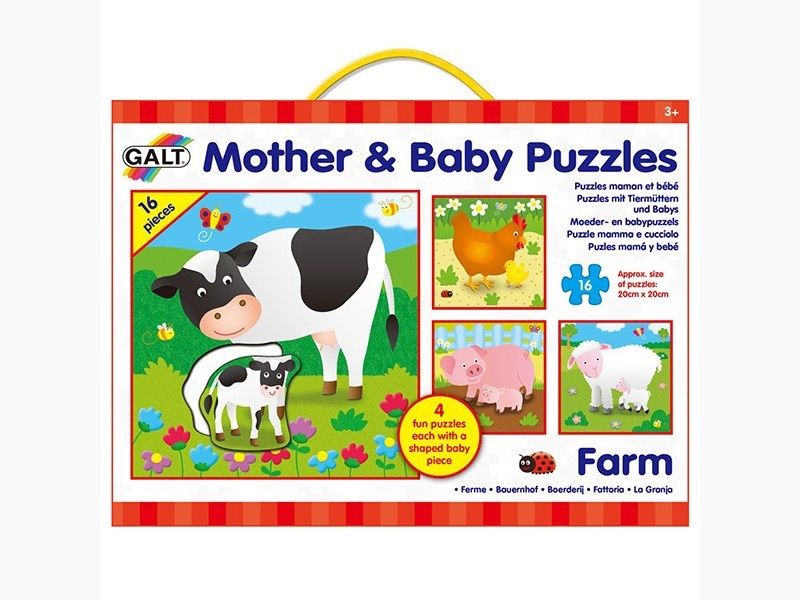 MOTHER AND BABY PUZZLES FARM