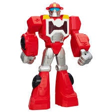 TRANSFORMERS RESCUE BOTS HEATWAVE THE FIRE BOT