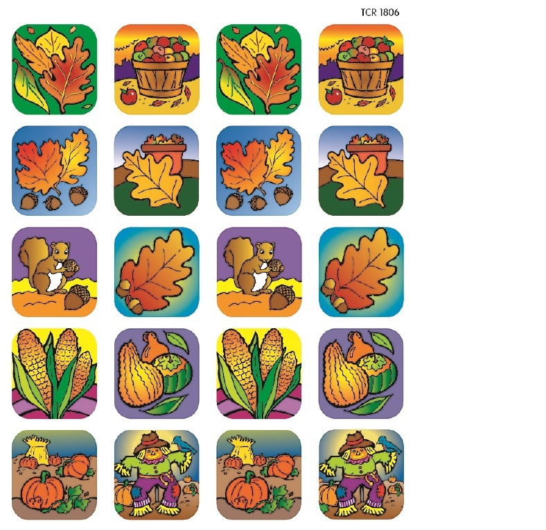 TCR 1806 FALL STICKERS