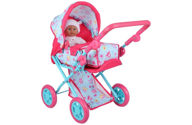 DOLL'S WORLD DELUXE DOLLS PRAM