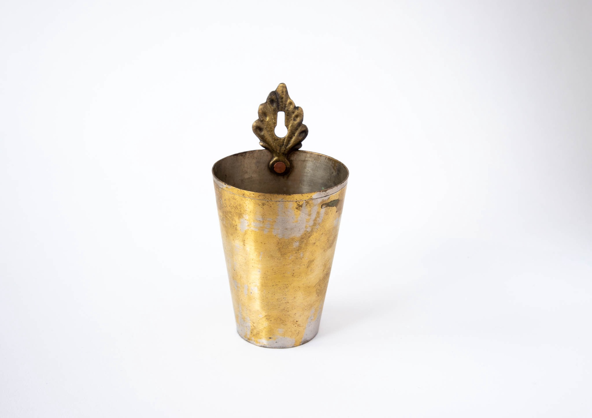Hanging Brass Cup