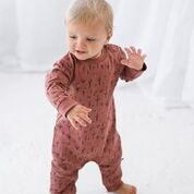 STICKS AND STONES CLAY TOMMY ROMPER