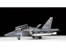 Zvezda #4821 1/48 Russian Light Ground Attack YAK-130