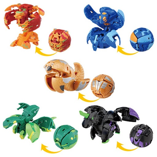 BAKUGAN SET DX PACK BAKU032 5 BALL VOL.