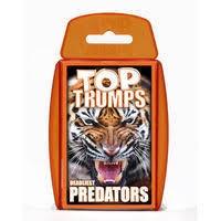 TOP TRUMPS PREDATORS