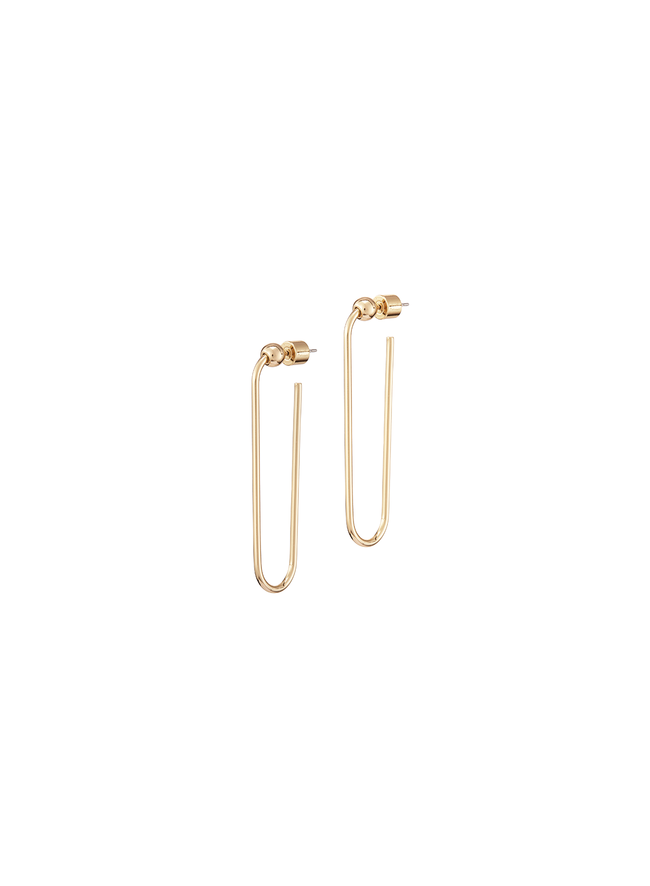 JENNY BIRD - ICON HOOPS LONG IN GOLD