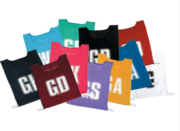 Gilbert Mesh Bibs set of 7 (Junior): Multiple Colours