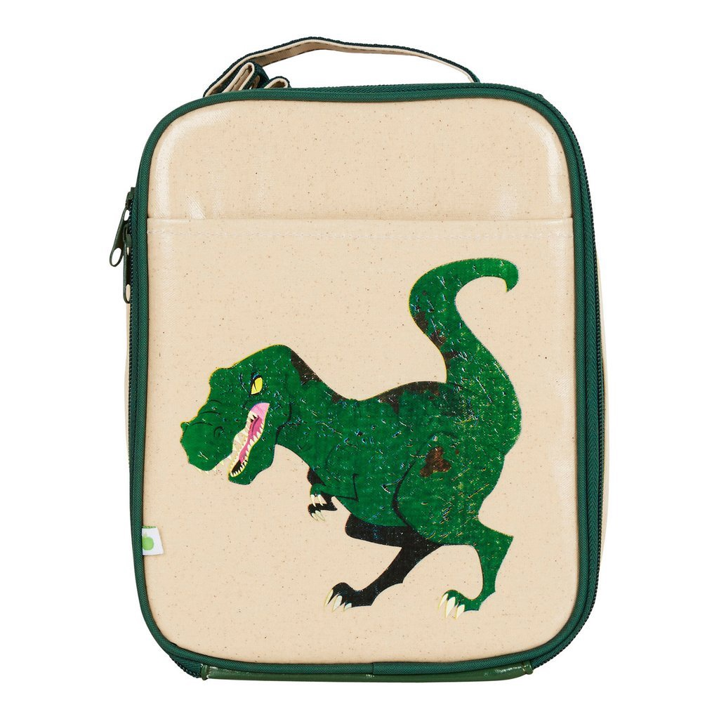 Apple and Mint Lunch Bag - Dinosaur