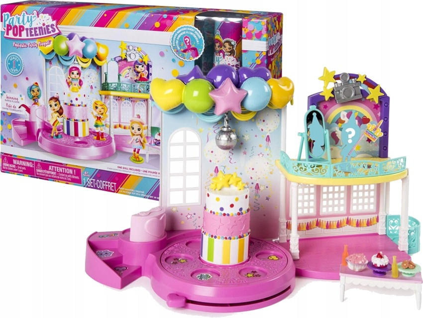 PARTY POP TEENIES POPTASTIC PARTY PLAYSET