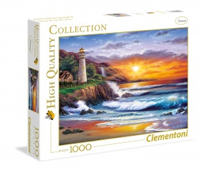 1000 PC PUZZLE LIGHTHOUSE AT SUNSET