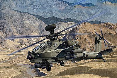 Academy #12537 1/72 British Army AH-64D