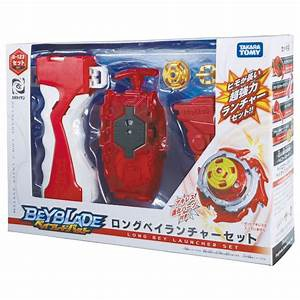 BEYBLADE LONG EY LAUNCHER SET 123