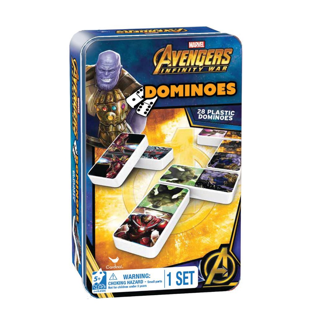AVENGERS INFINITY WAR DOMINOES