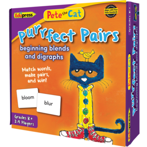 EP 63533 PETE THE CAT PURRFECT PAIRS BEGINNING BLENDS AND DIGRAPHS