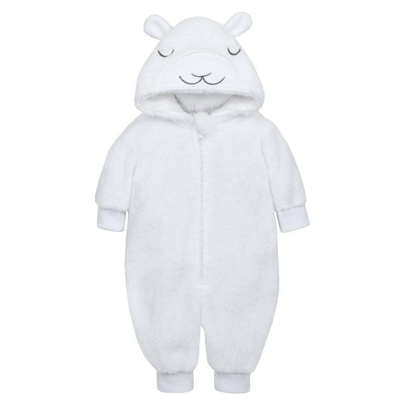 Baby Lamb Snuggle Fleece Onesie