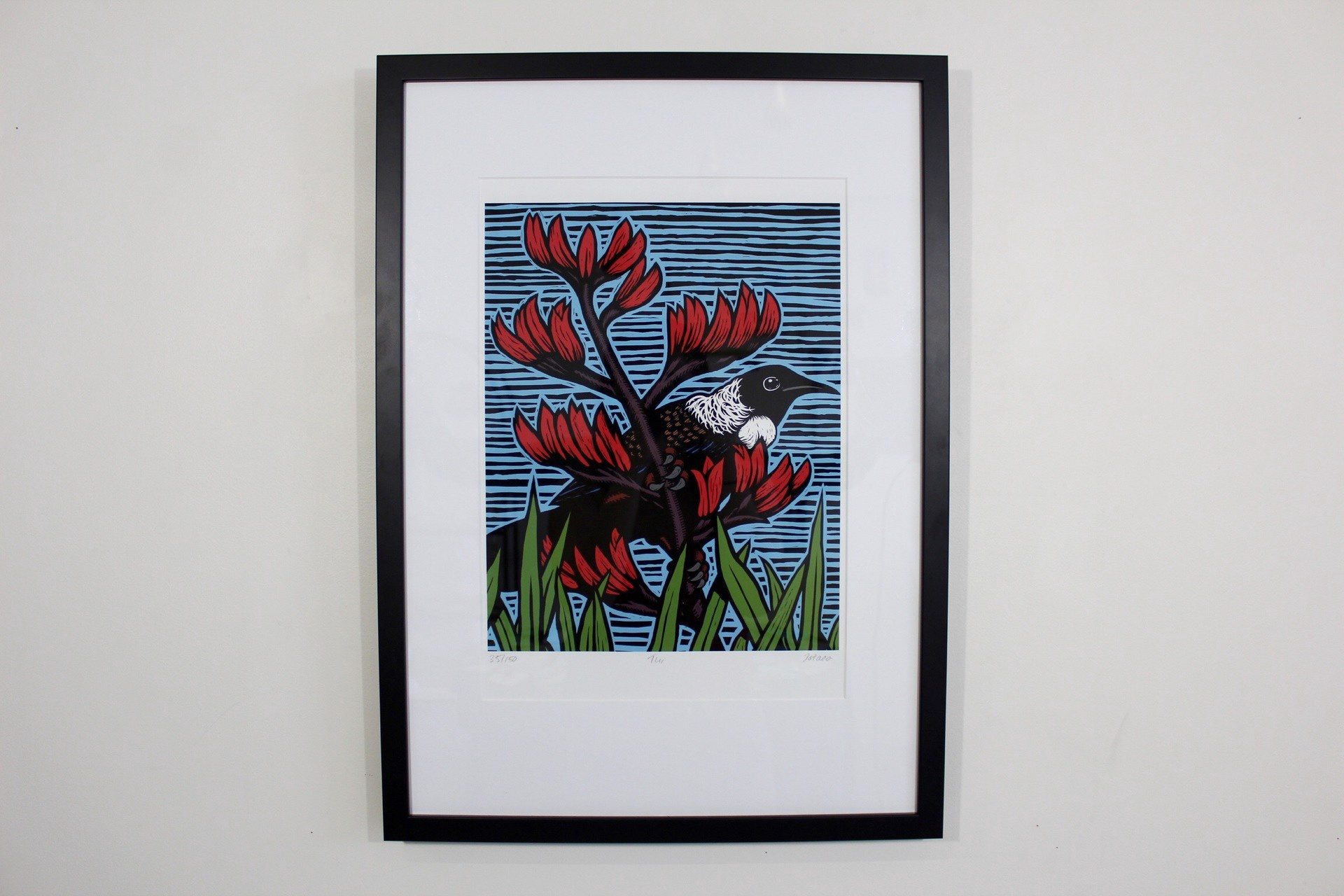 Ltd Ed Print Tui (colour)