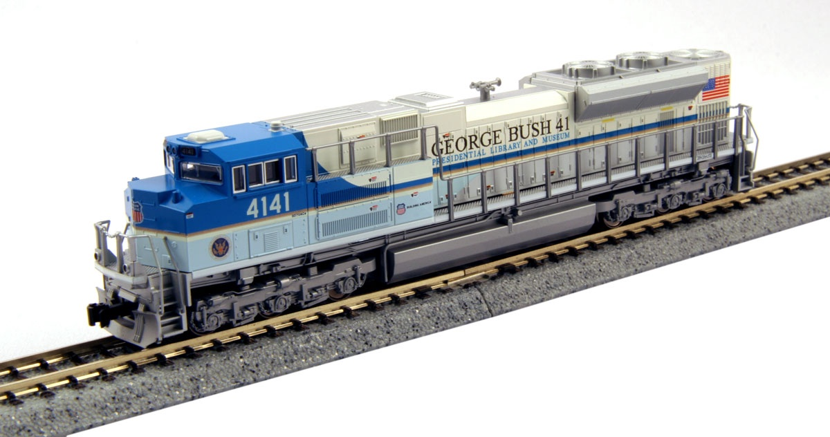 Kato #176-8411 N Scale EMD SD70ACe UP George Bush