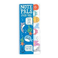 NOTE PALS STICKY NOTE TABS SEA LIFE