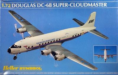 Heller Humbrol #80315 1/72 Douglas DC-6B Super CloudMaster
