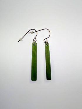 Earrings Pounamu - TH3