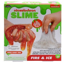 NICKELODEON FIRE & ICE SLIME IN BOX