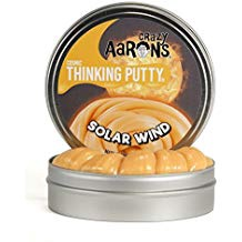 CRAZY AARON'S THINKING PUTTY SOLAR WIND 4 INCH