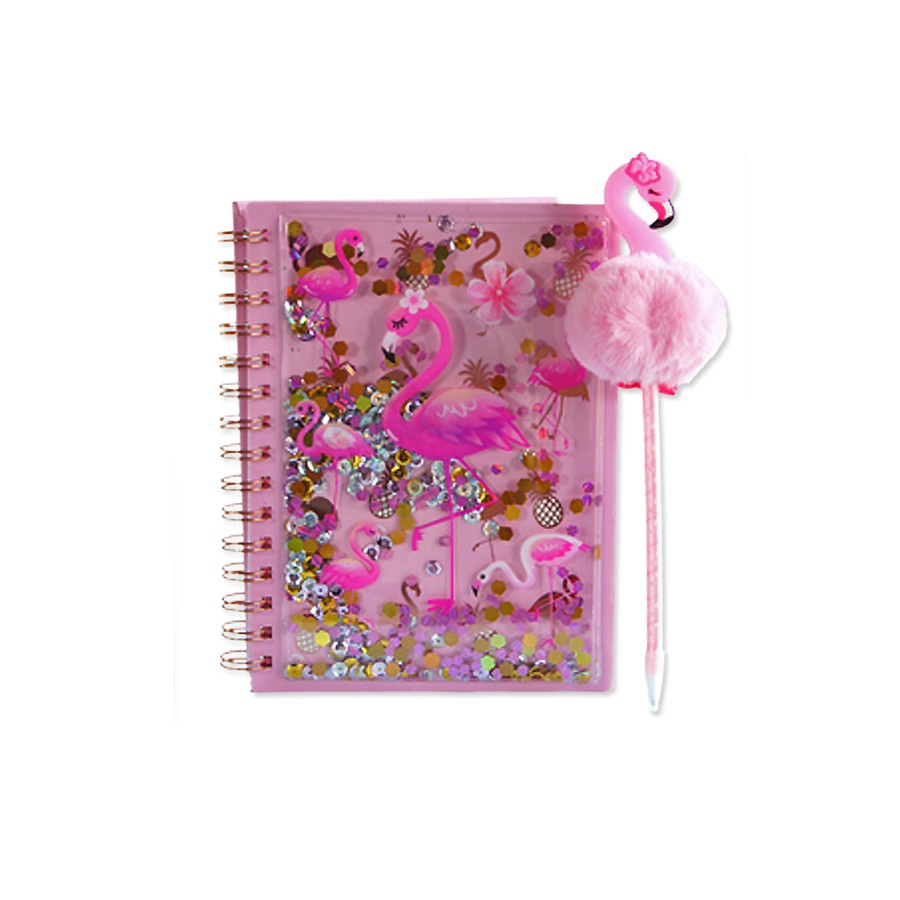 SCRIBBLE IN STYLE FLAMINGO